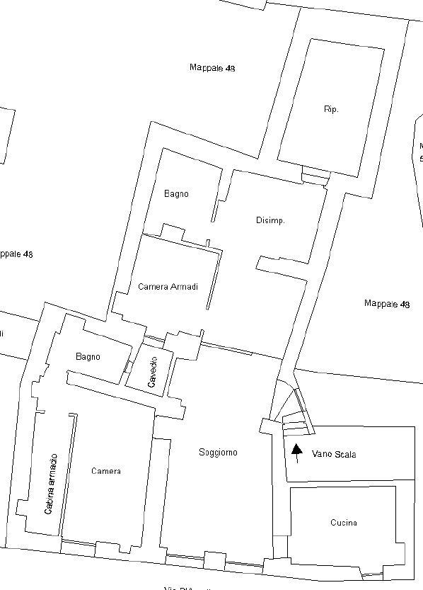 Appartamento in vendita a Dolcedo, 4 locali, zona alunga, prezzo € 128.000 | PortaleAgenzieImmobiliari.it